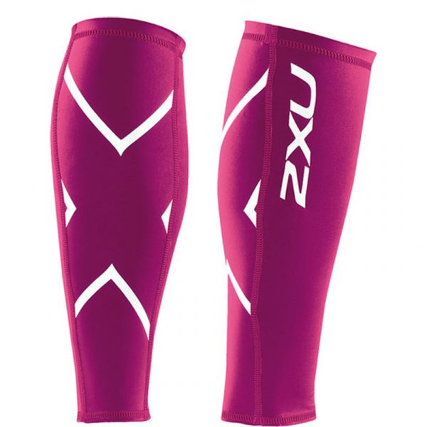 2XU PWX Compression Calf Guard One Back One Front