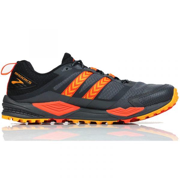 Brooks Cascadia 12 GTX Men's Trail Shoe Back