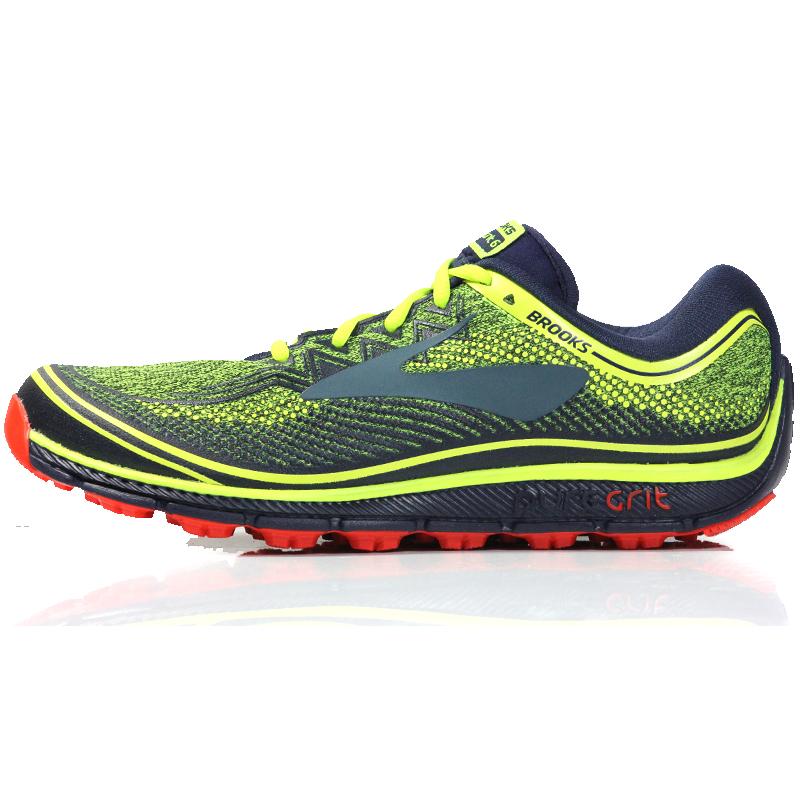 e9c08e8bbf0 Brooks PureGrit 6 Men s Trail Shoe Side. SALE