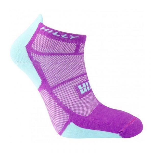 Hilly Twin Skin Socklet Running Sock side