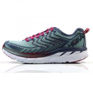 Hoke One One Clifton 4 Women's Running Shoe Side