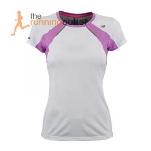 New Balance NBx Adapter Women's Short Sleeve Running Tee Front View