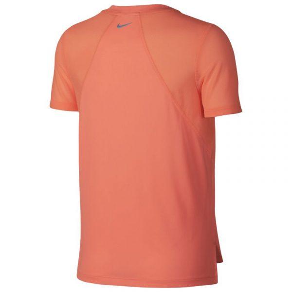 Nike Miler Short Sleeve Women's Running Tee Back