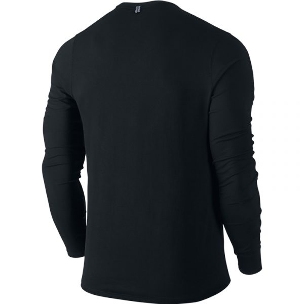 Nike Men's Contour Long Sleeve Running Tee Back
