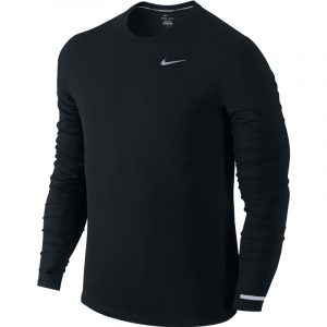 Nike Men's Contour Long Sleeve Running Tee Front