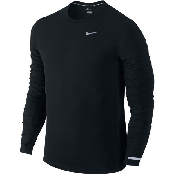 Nike Men's Contour Long Sleeve Running Tee Front