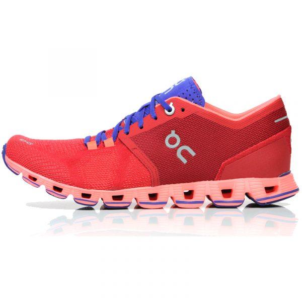 ON Women's Cloud X Running Shoe Side