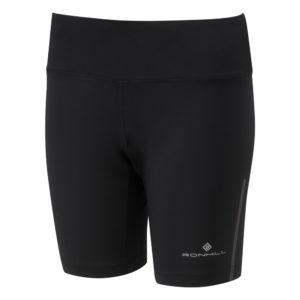 Ronhill Stride Stretch Women's Running Short all black front