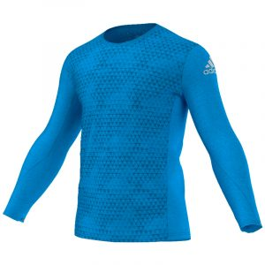 adidas Supernova Men's Long Sleeve Running Tee Front View