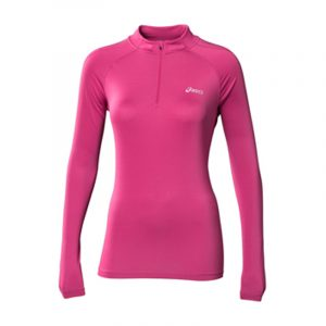Asics Long Sleeve Half Zip Women's Running Top Front