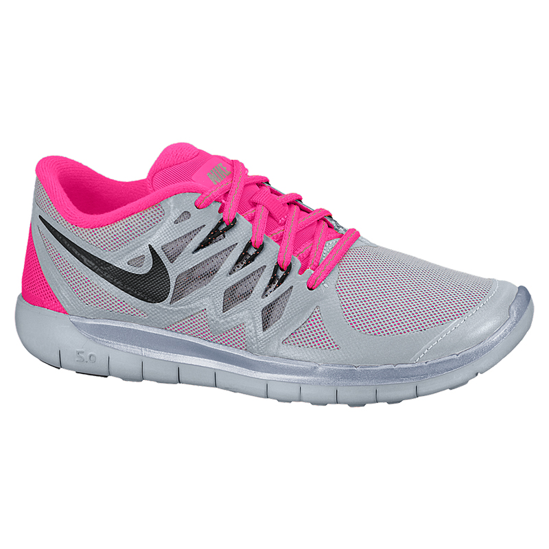 low priced 46262 edb68 Nike Free 5.0 Flash Junior Girl s Running Shoe Side View