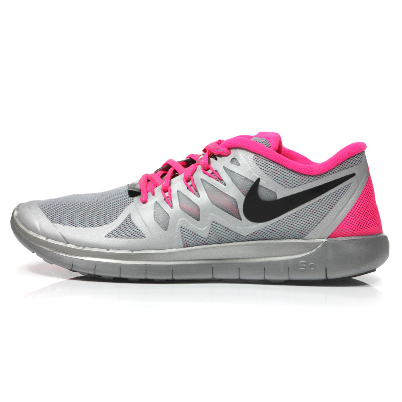 b5defe6512ed Nike Free 5.0 Flash Junior Girl s Running Shoe Side