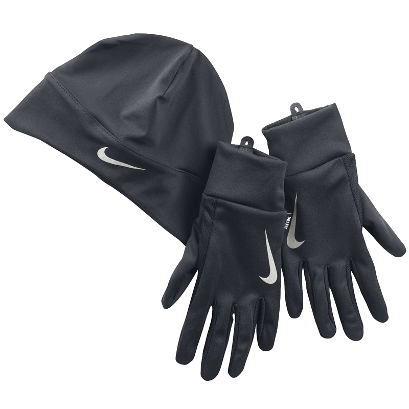 Nike Dri-Fit Run Women s Hat and Glove Set Front 8ee1d1b728c5