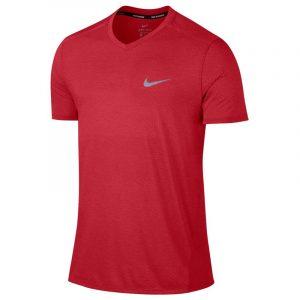 Nike Breathe Short Sleeve Men's Running Tee Front