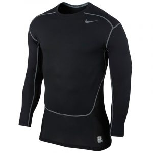 Nike Pro Combat Hypercool Men's Compression Long Sleeve Top Front