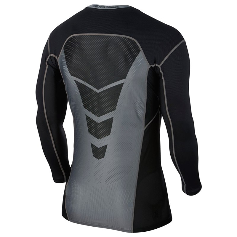 077fc496 Nike Pro Combat Hypercool Men's Compression Long Sleeve Top | The ...