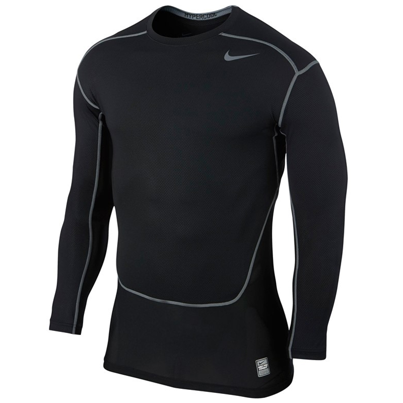 ed4f14f1 Nike Pro Combat Hypercool Men's Compression Long Sleeve Top | The ...