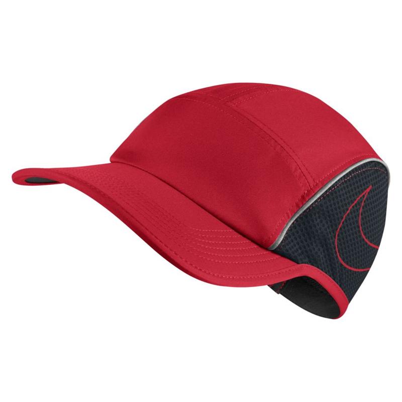 Nike Unisex AeroBill Running Cap Front 2d8756a138a