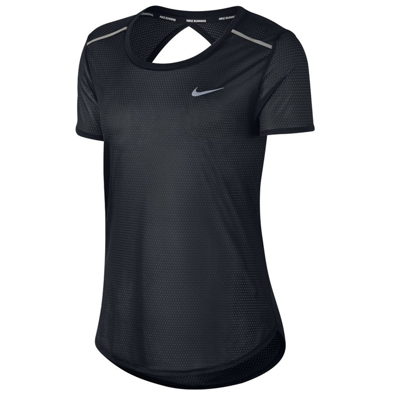 f023fbf3 Nike Breathe Short Sleeve Women's Running Top | The Running Outlet