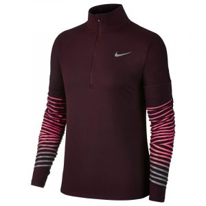 Nike Dry Element Flash Half Zip Women's Running Top Front