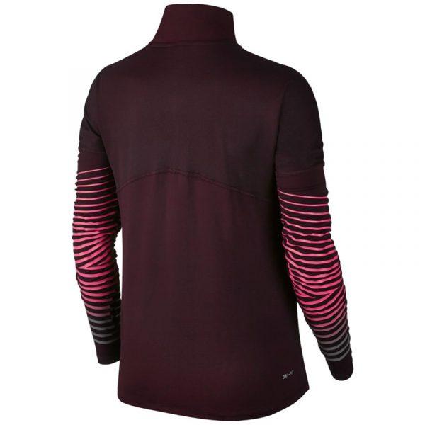 Nike Dry Element Flash Half Zip Women's Running Top Back