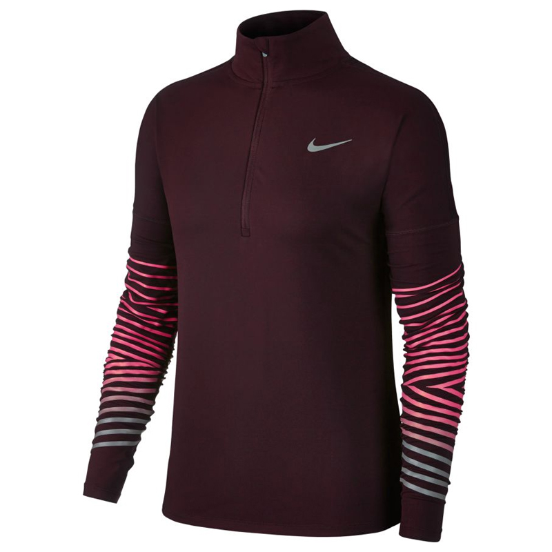 406bc2fc1e02 Nike Dry Element Flash Half Zip Women s Running Top Front
