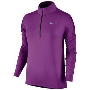 Nike Element Half Zip Long Sleeve Women's Running Top Front