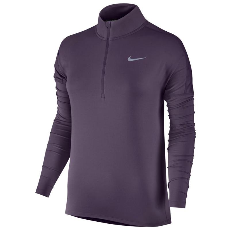 8bc9b8c11732 Nike Element Half Zip Long Sleeve Women s Running Top Front
