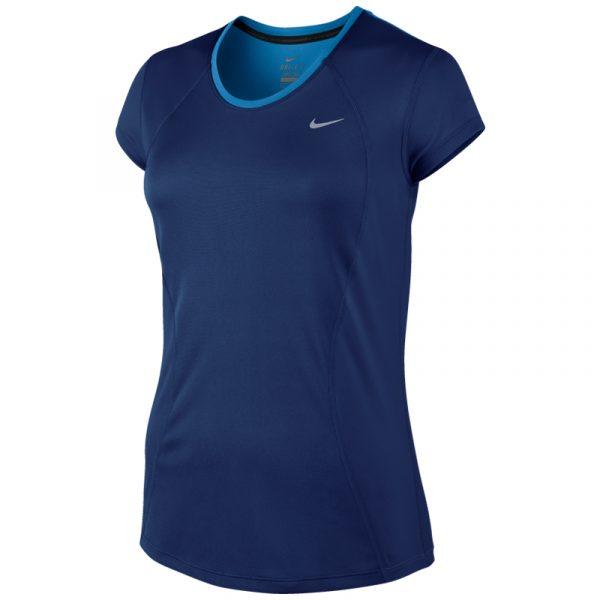 Nike Racer Short Sleeve Women's Running Tee Front
