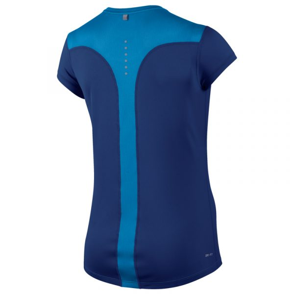 Nike Racer Short Sleeve Women's Running Tee Back