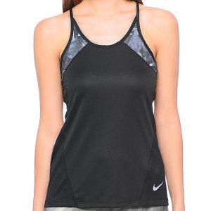 Nike Dry Miler Women's Running Tank Front Model