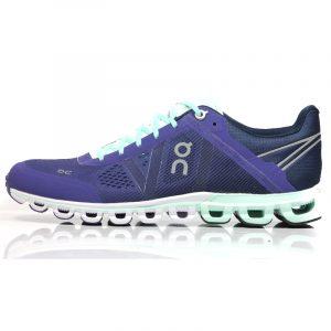 On Cloudflow Women's Running Shoe Side