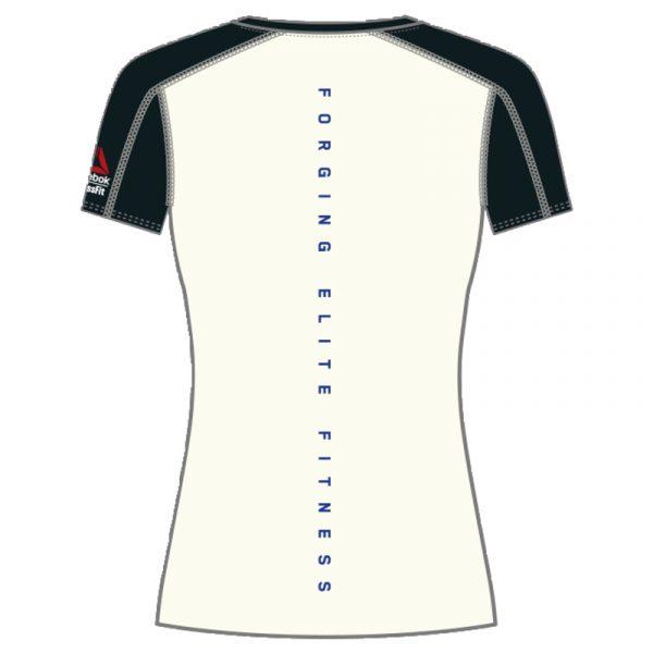 Reebok Crossfit Paddle Women's Short Sleeve Tee Back