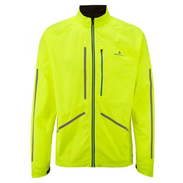 Ronhill Men's Vizion Photon Jacket fluo yellow front