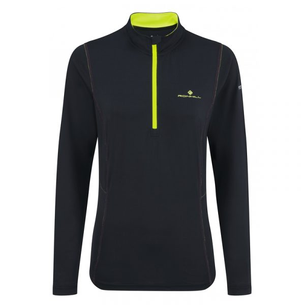 Ronhill Vizion Base Thermal 200 Half Zip Women's Running Top Front View