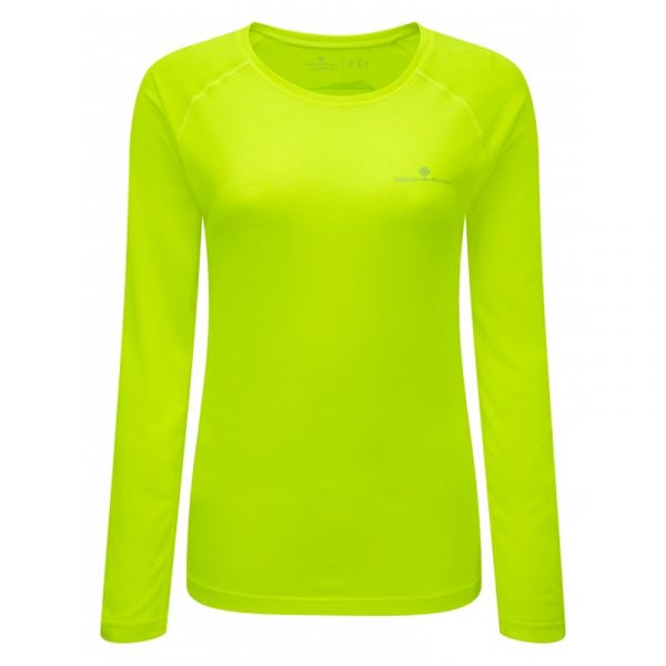 Ronhill Vizion Motion Long Sleeve Women's Running Tee Front