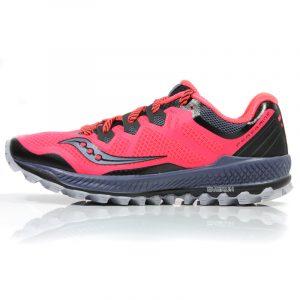 Saucony Peregrine 8 Women's Trail Shoe Side