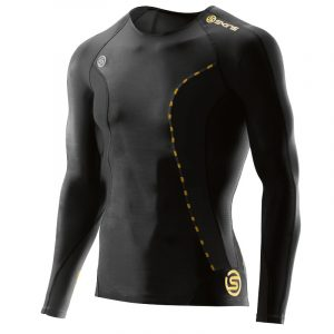 Skins Men's DNAmic Compression Long Sleeve Top Front
