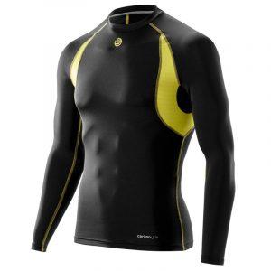 Skins Carbonyte Long Sleeve Men's Baselayer Top Front