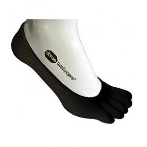 Vibram Five Toe Athletic No Show Sock Front