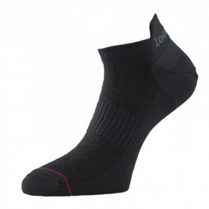 000 Mile Ultimate Trainer-Liner Men's Running Sock Black