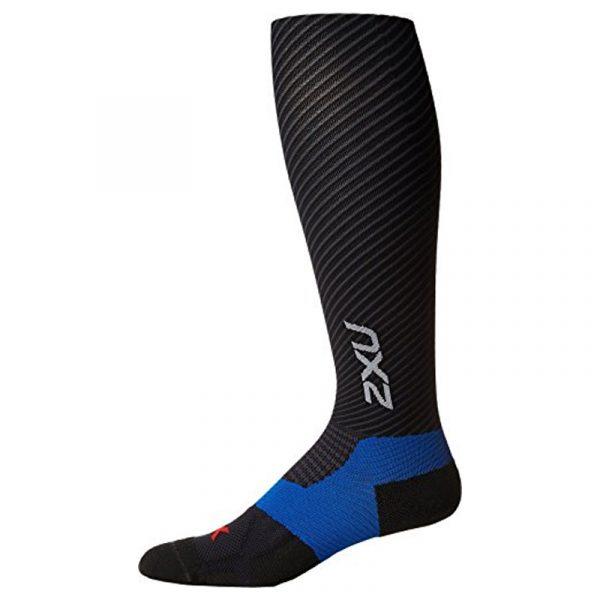 2XU Men's Elite Xlock Compression Sock Black