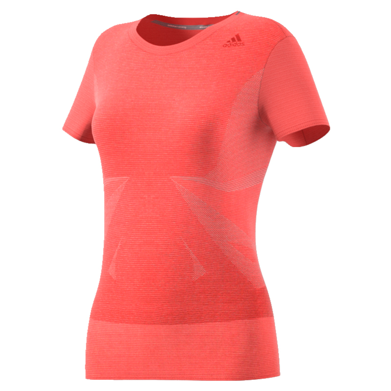 adidas Supernova Short Sleeve Women's Running Tee Front View