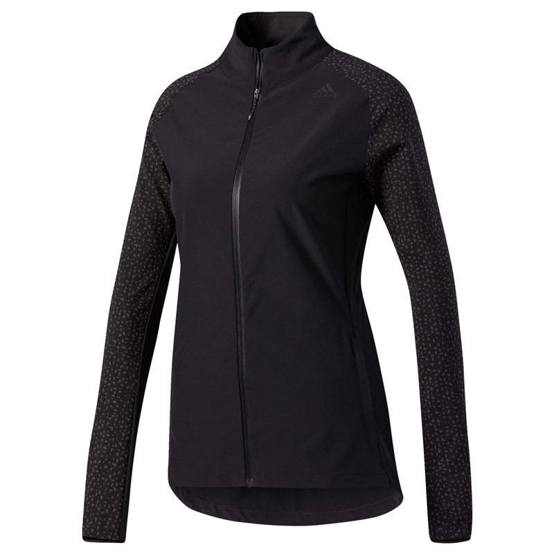 adidas Women's Supernova Storm Running Jacket Front View