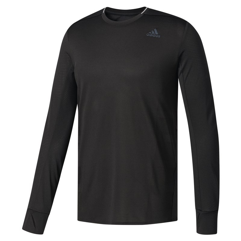 adidas Supernova Men's Long Sleeve Running Tee Front