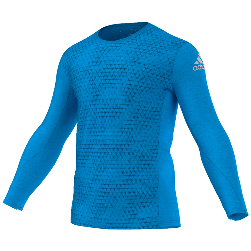 adidas Supernova Climachill Men's Long Sleeve Running Tee Front