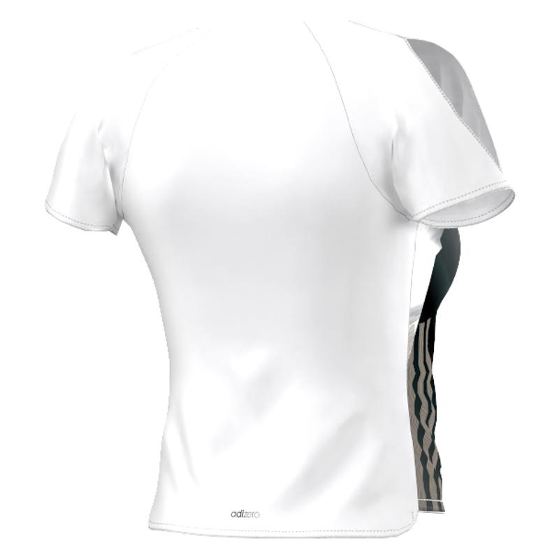 adidas Adizero Women's Short Sleeve Running Tee Back