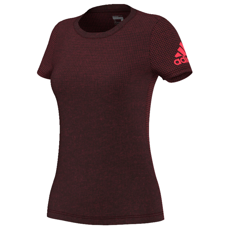 adidas Climacool Aeroknit Women's Short Sleeve Tee Front