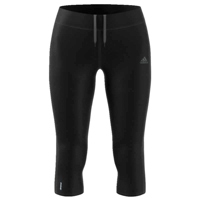 adidas Response 3/4 Women's Running Tight Front