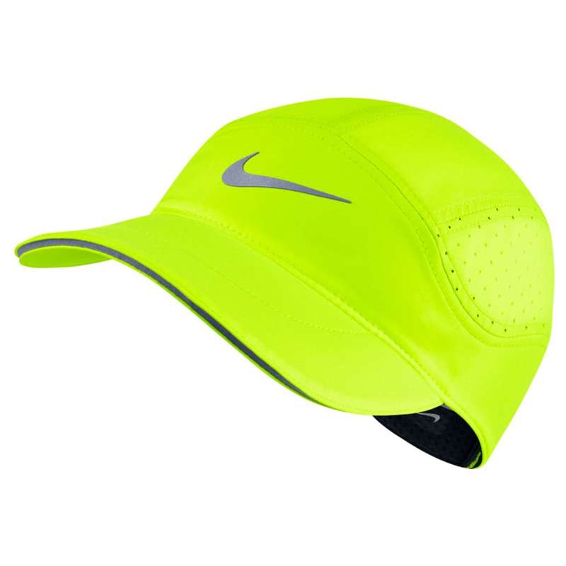 Nike AeroBill Unisex Running Cap Yellow 3a36647485ce